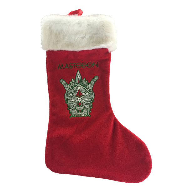 MASTODON HOLIDAY STOCKING