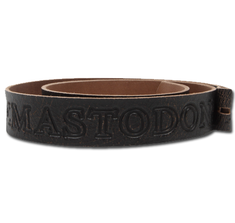 MASTODON LEATHER BELT - Small