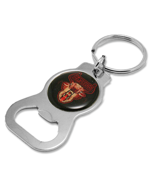 HUNTER BOTTLE OPENER KEYCHAIN