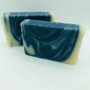 Barefoot in Blue Jeans Soap