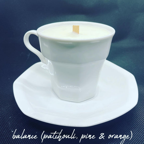 Tea Cup Soy Candles
