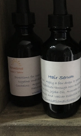 Argan Oil Hair Serum