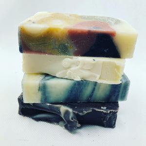 Unwrapped Hippie Collection 4-Pack Bar Soap Bundle