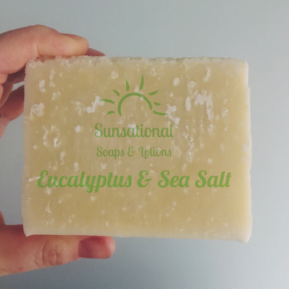 Eucalyptus & Sea Salt Soap