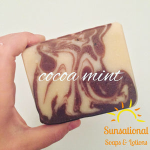Cocoa Mint Soap