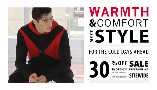 30% Off for the Colder Days Ahead!