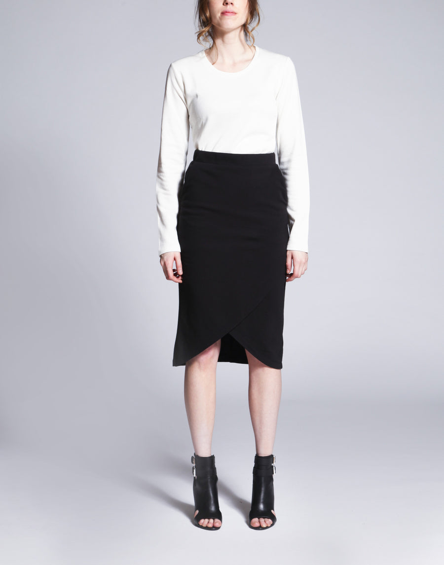 Sam Overlay Pencil Skirt
