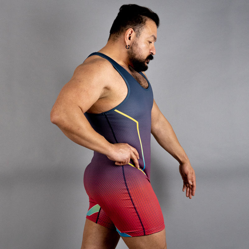 Gym + Queer Culture=Wrestling Singlets