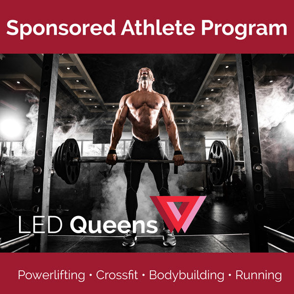 Become  An LEDQ Sponsored Athlete!