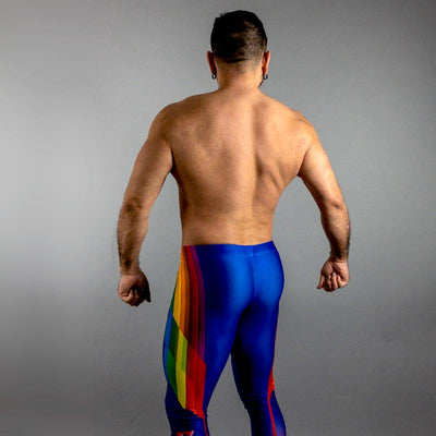 Pride Bodybuilding Tights (80s Neon)