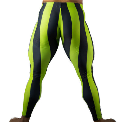 80's Retro Kiwi Bodybuilding Tights