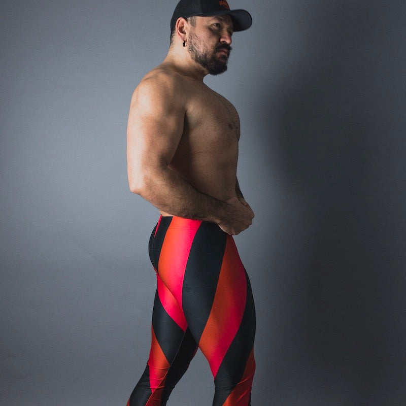 Rad Retro Cherry Bodybuilding Tights