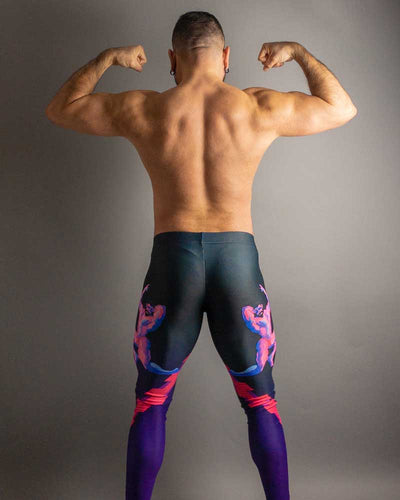 Dreampop Bodybuilding Tights for Men