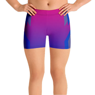 Double Helix Bisexual Pride Spandex Shorts