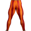 80's Retro Blood Orange Bodybuilding Tights