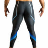 Chaos Blue Bodybuilding Tights