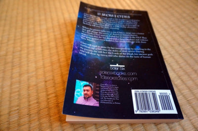 13 Secret Cities Paperback by Author Cesar Torres