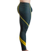 Digital Yellow Bodybuilding Tights