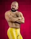 80's Retro Lemon Bodybuilding Spandex Shorts