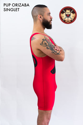 The Pup Powerlifting Singlet
