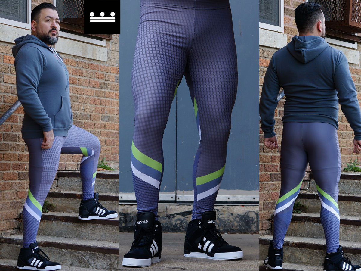 Geometrix Men's Leggings