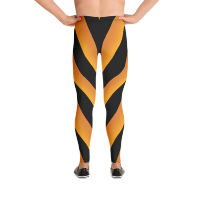 80's Retro Gold Bodybuilding Tights
