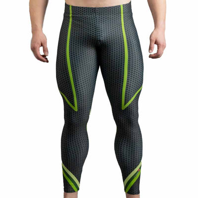 Sinister Green Bodybuilding Tights