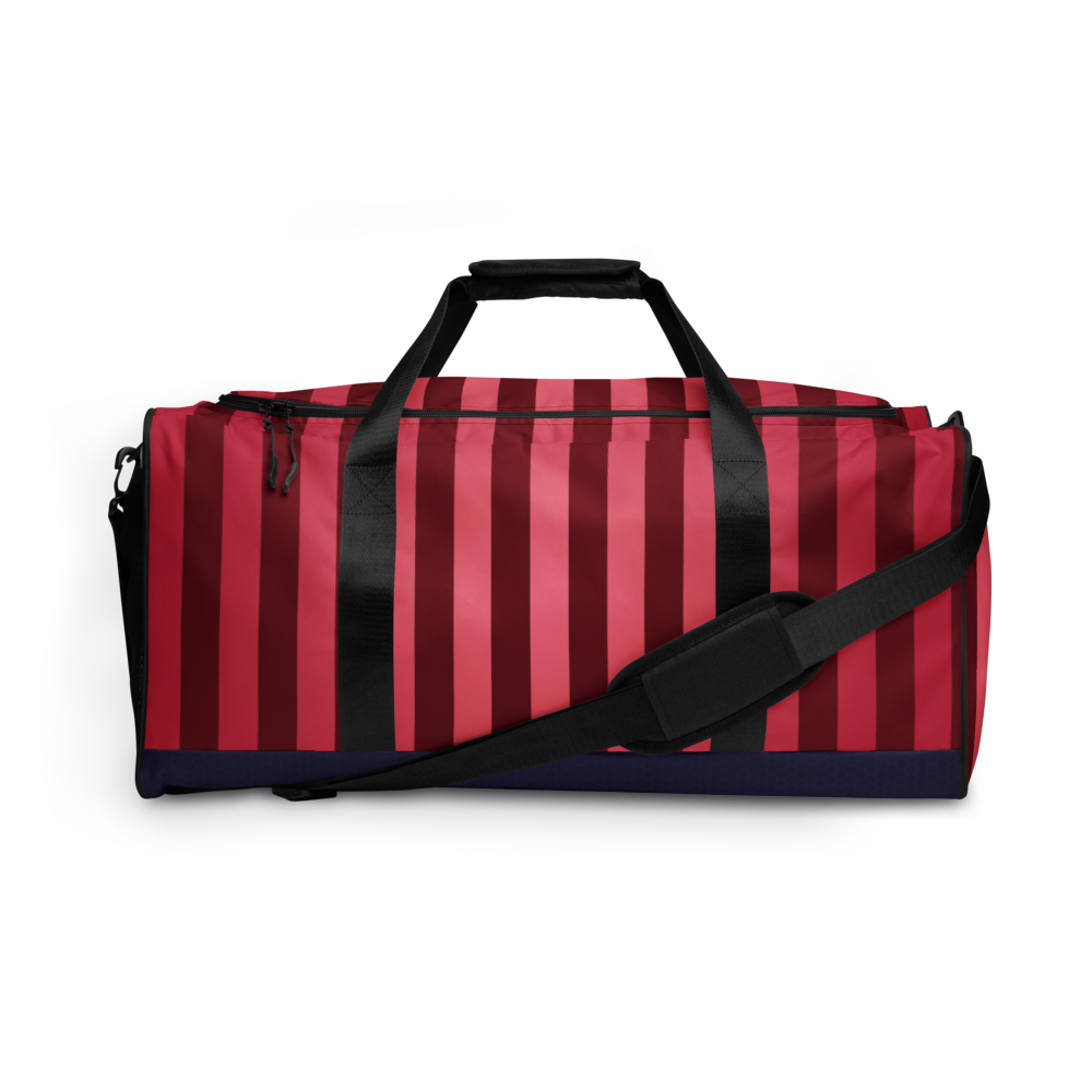 80's Retro Pomegranate Duffel Bag