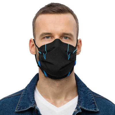 Chaos Blue Face Mask