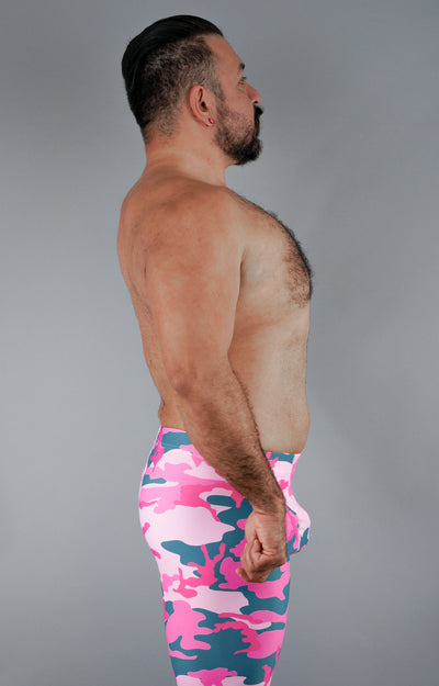 Bubblegum Gorilla Bodybuilding Tights for Men