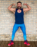 Acid House Bodybuilding Tights for Men