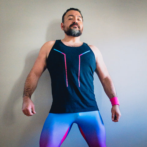 Synthpop Tank Top