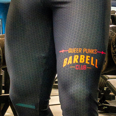 Queer Punks Barbell Club Bodybuilding Tights