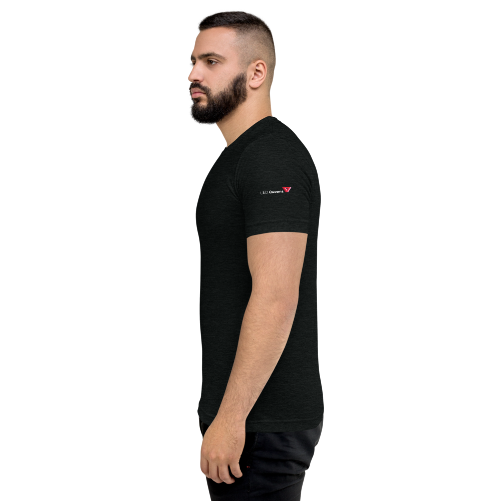 The LED Queens Classic Black Tee (Ultra-Soft Tri-Blend)