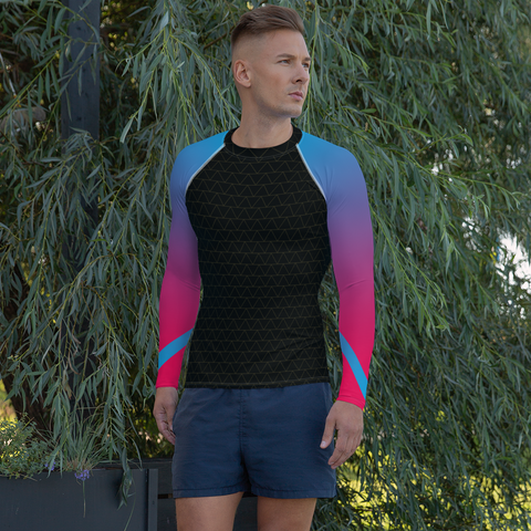 Synthpop Compression Long-Sleeve Shirt For Men