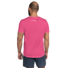 Fluid Pink Moisture-Wicking Workout T-Shirt