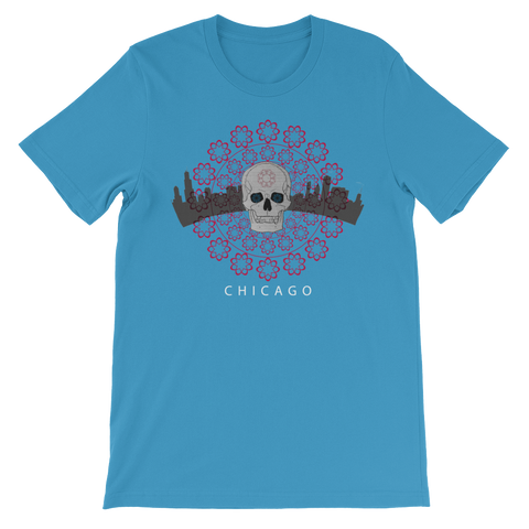 Chicago Skull Shirt