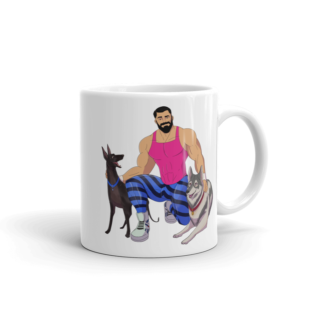 Dog & Muscle Coffee Mug