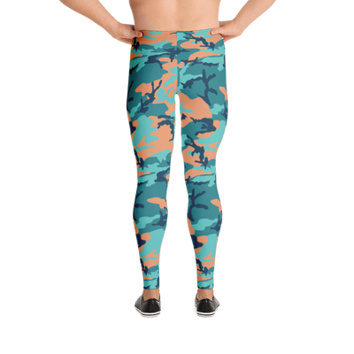 Camo Stronghouse Leggings For Men