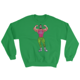 Lift Sleep Repeat 80's Retro Bodybuilder Sweatshirt