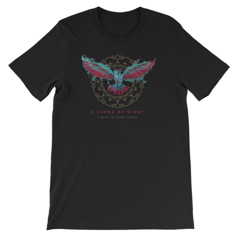 9 Lords of Night Tecolotl T-Shirt