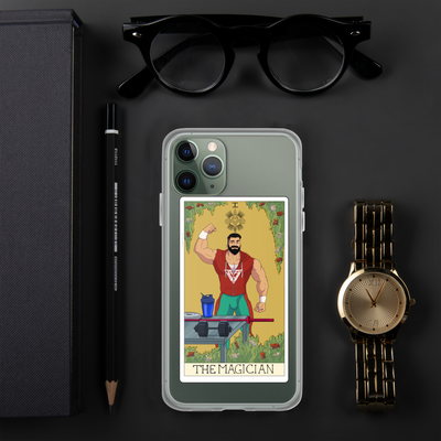 The Magician Tarot Card iPhone Case