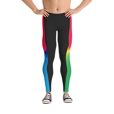 Rainbow Pride Bodybuilding Tights for Men