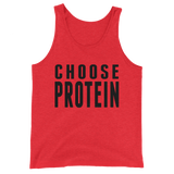 Choose Protein Tank Top (Orange Edition)
