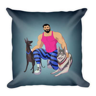 Dog & Muscle Pillow