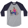 Dog & Muscle 3/4 Sleeve Shirt