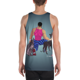 Dog & Muscle Tank Top (Stretchy Edition)