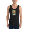 Magician Tarot Card Tank Top (Black)