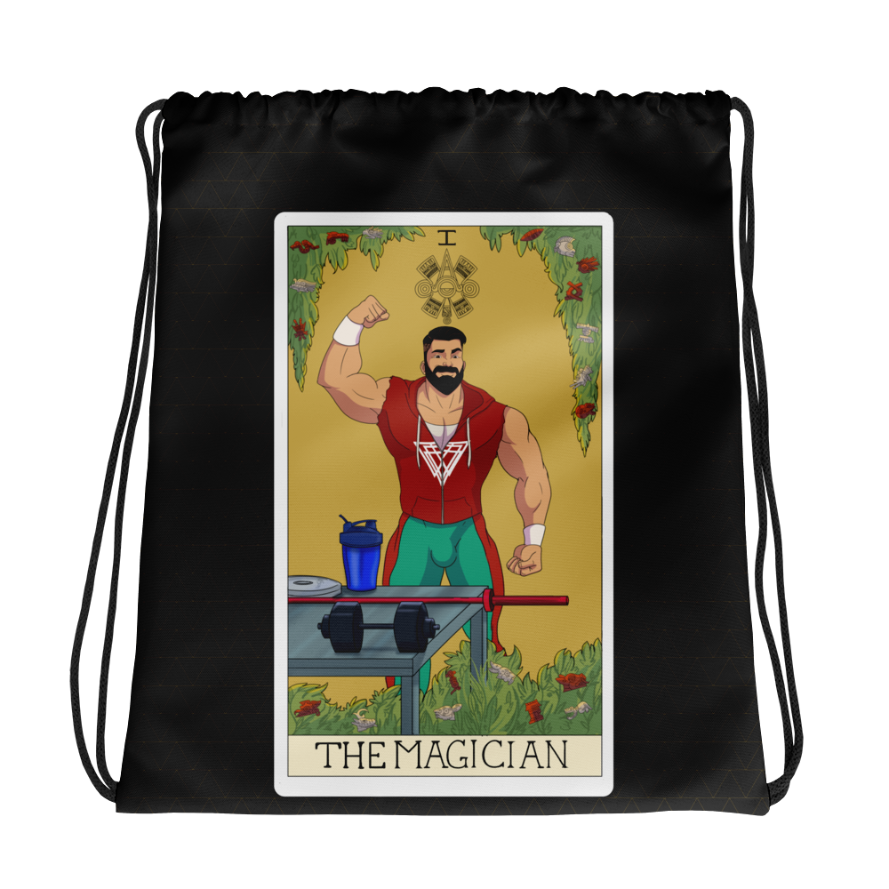 The Magician Drawstring Bag