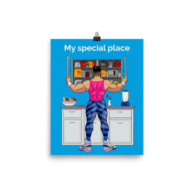 Pablito's Special Place Glossy Poster
